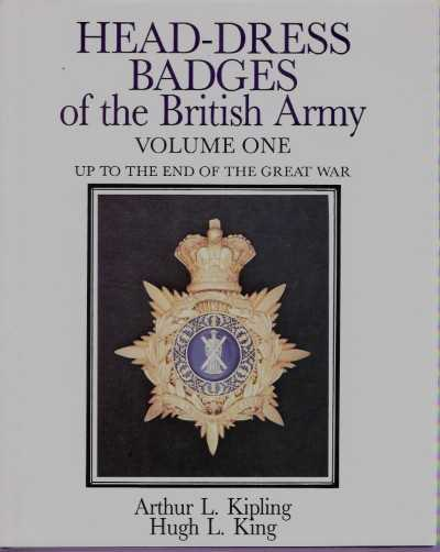 >HEAD-DRESS BADGES OF THE BRITISH ARMY VOL 1-2<