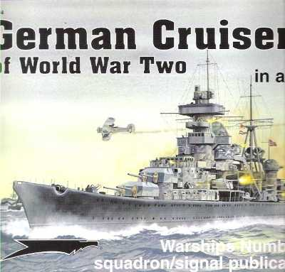 >GERMAN CRUISERS OF WW TWO IN ACTION<