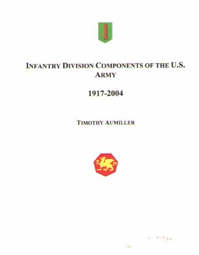 >INFANTRY DIVISION COMPONENTS OF THE U.S. ARMY<