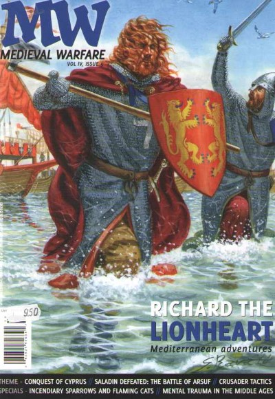 >MEDIEVAL WARFARE VOL IV, ISSUE 5. RICHARD THE LIONHEART<