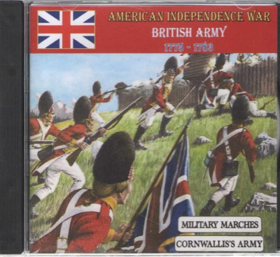 >AMERICAN INDEPENDENCE WAR BRITISH ARMY, 1775-1783 (CD)<