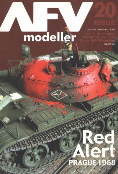 >AFV MODELLER N. 20. RED ALERT PRAGUE 1968<