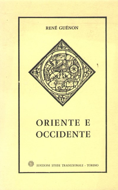 >ORIENTE E OCCIDENTE<
