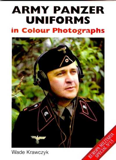 >ARMY PANZER UNIFORMS IN COLOUR PGOTOGRAPHS<