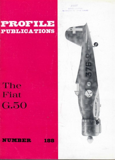 >PROFILE 188: THE FIAT G.50<