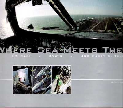 >WHERE SEA MEETS THE SKY US NAVY CVW-3 HARRY TRUMAN<