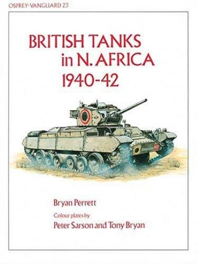 >NV23 BRITISH TANKS IN N. AFRICA 1940-42<