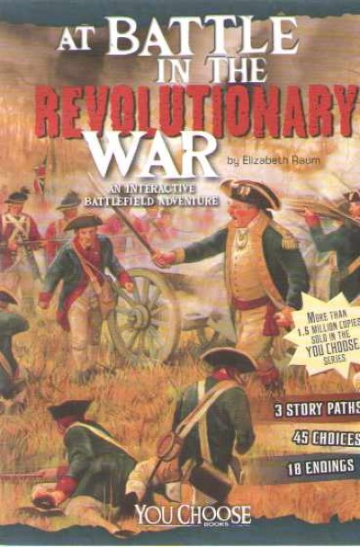 >AT BATTLE IN THE REVOLUTIONARY WAR<