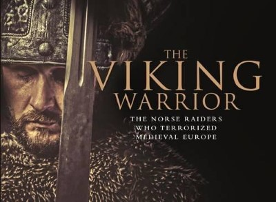 >THE VIKING WARRIOR THE NORSE RAIDERS WHO TERRORISED MEDIEVAL PEOPLE<