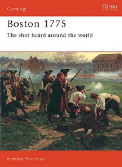 >CA37 BOSTON 1775. THE SHOT HEARD AROUND THE WORLD<