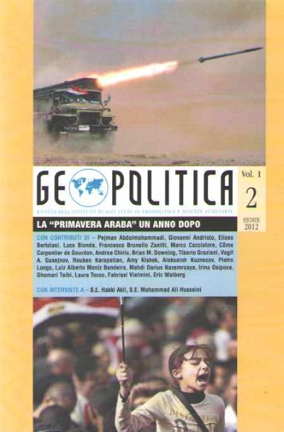 >GEOPOLITICA VOL. 1 N. 2 ESTATE 2012<