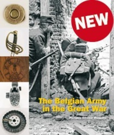 >THE BELGIAN ARMY IN THE GREAT WAR VOLUME 2. PORTABLE WEAPONS<