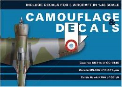 >CAMOUFLAGE e DECALS CAUDRON CR.714 OF GC 1/145<