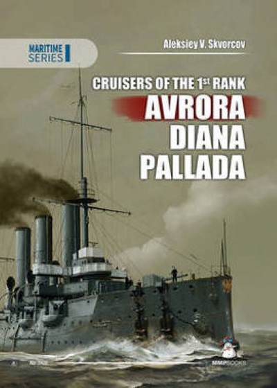 >CRUISERS OF THE 1ST RANK: AVRORA, DIANA, PALLADA <