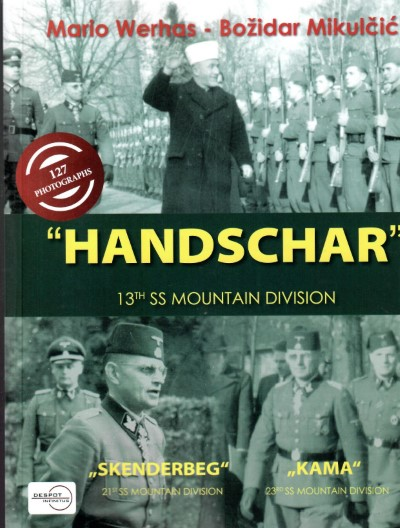 >HANDSCHAR 13TH SS MOUNTAIN DIVISION<
